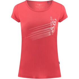 Kaikkialla Tytti Drirelease - T-shirt manches courtes Femme - orange